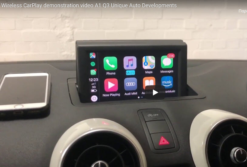 Apple Car Play: Wireless Apple CarPlay retrofit kit Audi A1