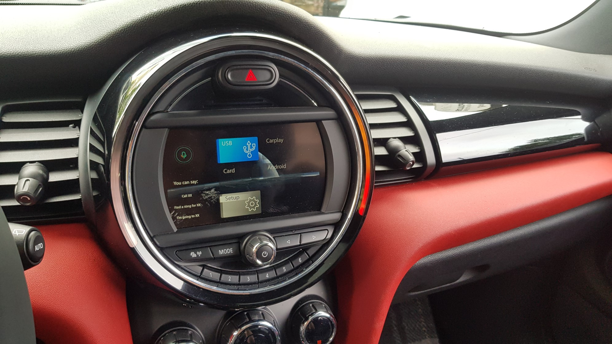 Mini Cooper F-56  Wireless Apple Car Play, Android Auto, Media