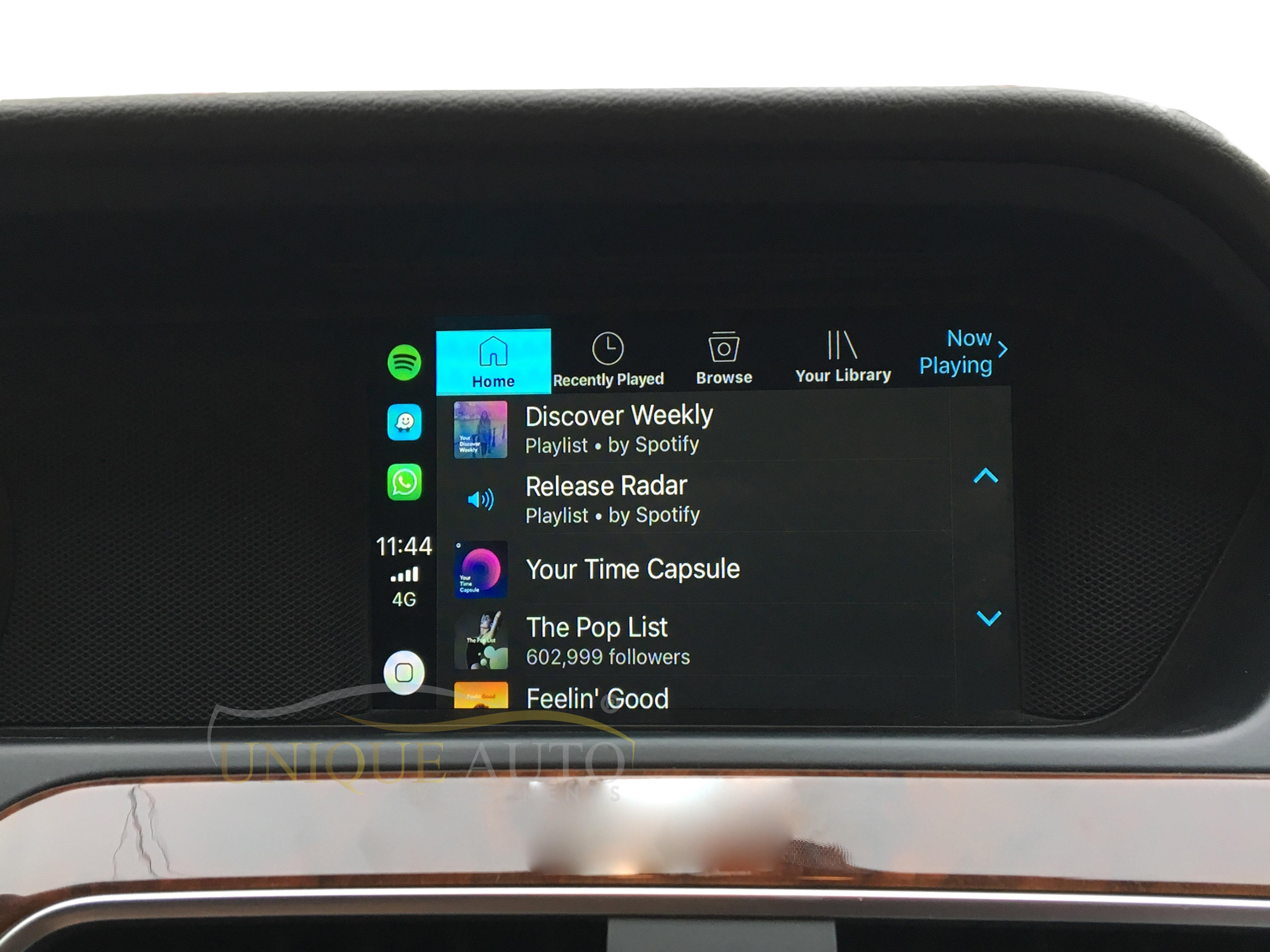 Wireless CarPlay Interface for Mercedes A Class C Class E Class SLK ML  W204/W212/R172 2011- 2015 NTG 4 5
