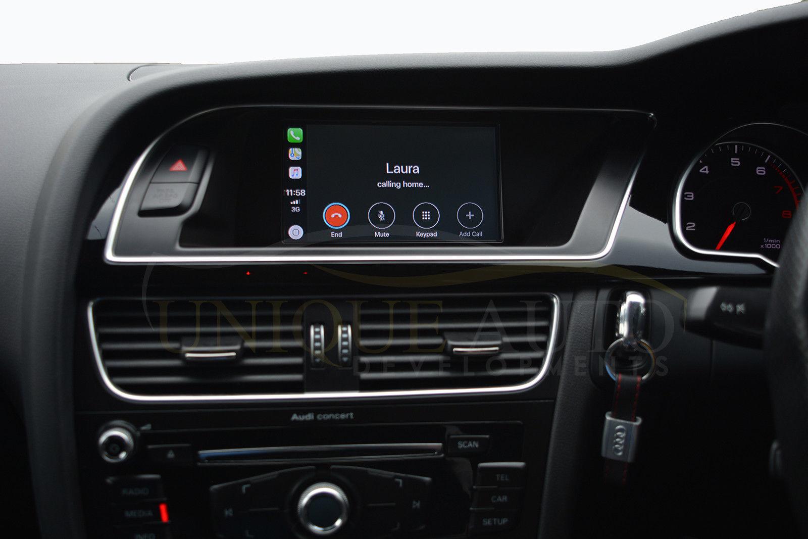 Audi Retrofit Carplay